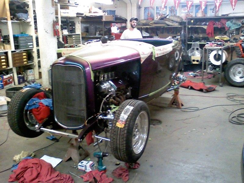 1932 Ford With A Lexus V8 Midnight Hot Rods